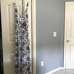 Jessica Simpson-Floral Maxi Dress